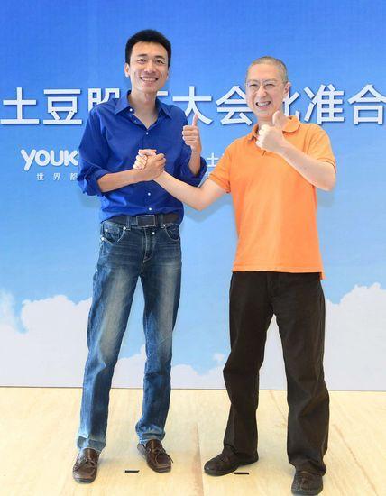 王微(左),古永锵(右)