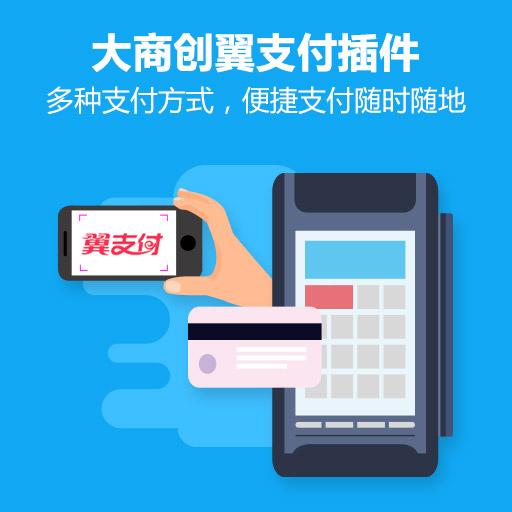 大商創翼支付插件(手機pc均適用)